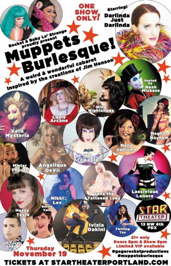 Muppets Burlesque